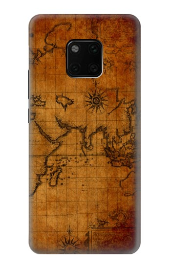 Printed Old Map Huawei Mate 20 Pro Case