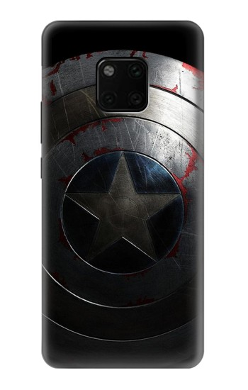 Printed Captain Shield Huawei Mate 20 Pro Case
