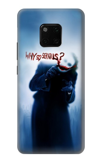 Printed Batman Joker Why So Serious Huawei Mate 20 Pro Case