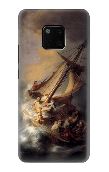 Printed Rembrandt Christ in The Storm Huawei Mate 20 Pro Case
