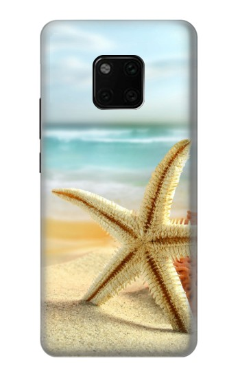 Printed Starfish on the Beach Huawei Mate 20 Pro Case