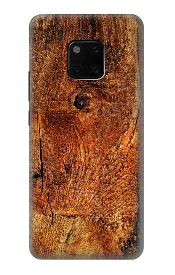 Printed Wood Skin Graphic Huawei Mate 20 Pro Case
