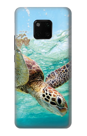 Printed Ocean Sea Turtle Huawei Mate 20 Pro Case
