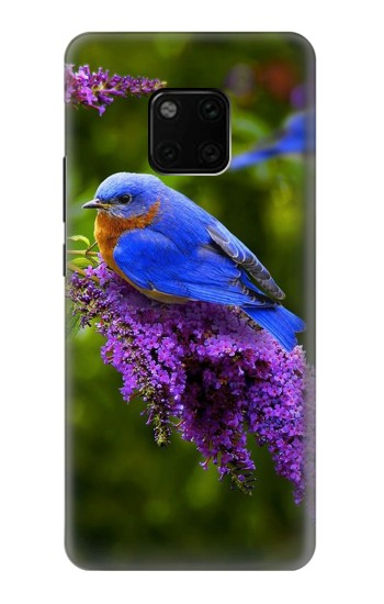 Printed Bluebird of Happiness Blue Bird Huawei Mate 20 Pro Case