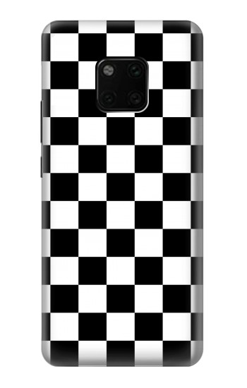 Printed Checkerboard Chess Board Huawei Mate 20 Pro Case