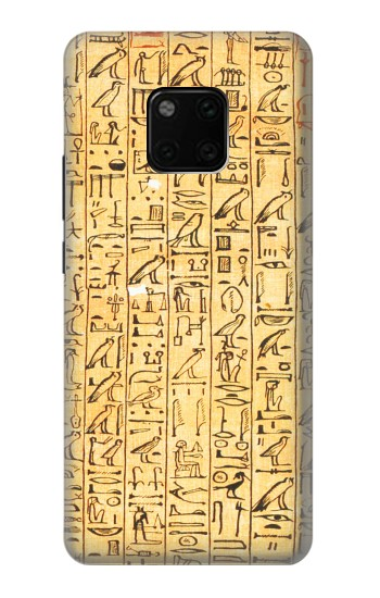 Printed Egyptian Coffin Texts Huawei Mate 20 Pro Case