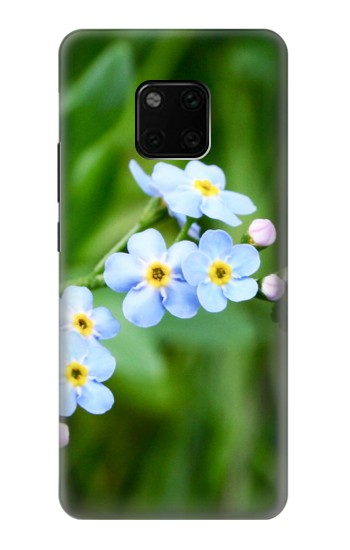 Printed Forget Me Not Huawei Mate 20 Pro Case