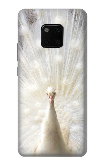 Printed White Peacock Huawei Mate 20 Pro Case