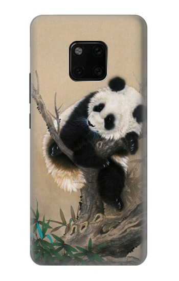 Printed Panda Fluffy Art Painting Huawei Mate 20 Pro Case
