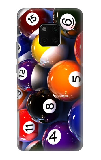 Printed Billiard Pool Ball Huawei Mate 20 Pro Case