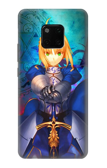 Printed Fate Stay Night Saber Arturia Pendragon Huawei Mate 20 Pro Case