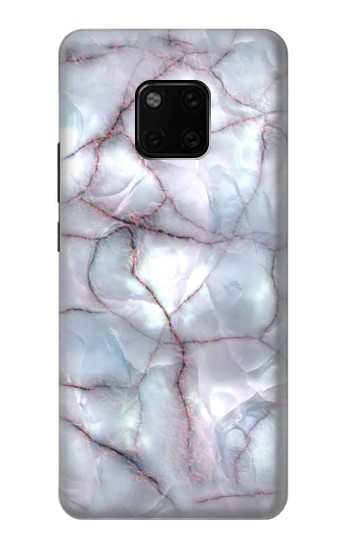 Printed Dark Blue Marble Texture Graphic Print Huawei Mate 20 Pro Case