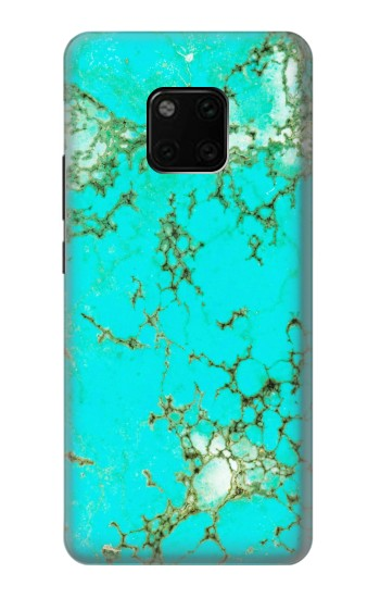 Printed Turquoise Gemstone Texture Graphic Printed Huawei Mate 20 Pro Case
