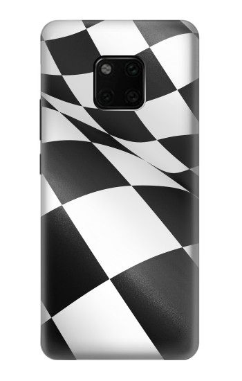 Printed Checkered Winner Flag Huawei Mate 20 Pro Case