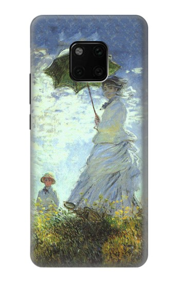 Printed Claude Monet Woman with a Parasol Huawei Mate 20 Pro Case