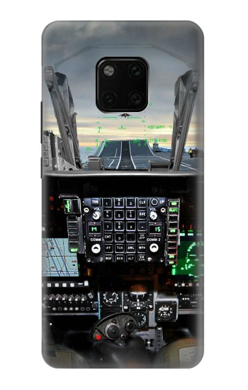 Printed Fighter Jet Aircraft Cockpit Huawei Mate 20 Pro Case