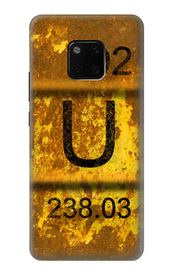Printed Old Rusty Urenium Waste Barrel Huawei Mate 20 Pro Case