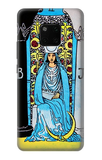 Printed The High Priestess Vintage Tarot Card Huawei Mate 20 Pro Case