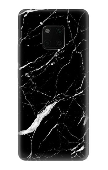 Printed Black Marble Graphic Printed Huawei Mate 20 Pro Case