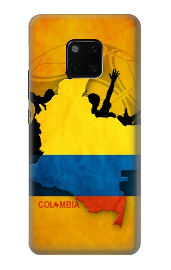 Printed Colombia Football Flag Huawei Mate 20 Pro Case