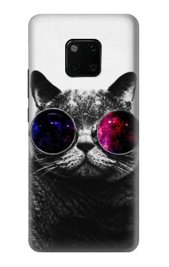 Printed Cool Cat Glasses Huawei Mate 20 Pro Case