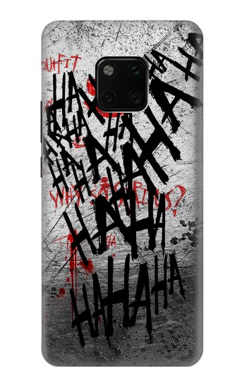 Printed Joker Hahaha Blood Splash Huawei Mate 20 Pro Case