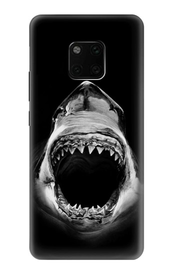 Printed Great White Shark Huawei Mate 20 Pro Case