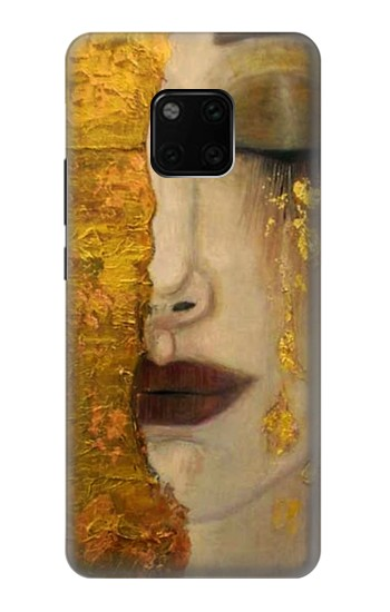 Printed Gustav Klimt Golden Tears Huawei Mate 20 Pro Case