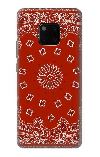 Printed Bandana Red Pattern Huawei Mate 20 Pro Case
