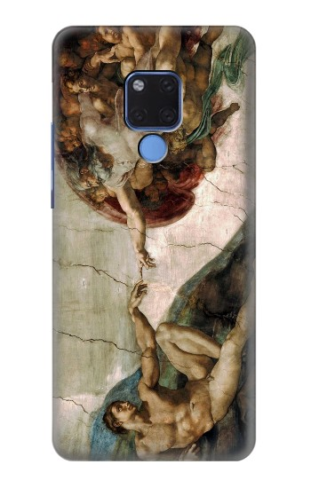 Printed Michelangelo The creation of Adam Huawei Mate 20 X Case