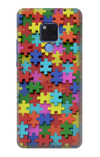 Printed Puzzle Huawei Mate 20 X Case