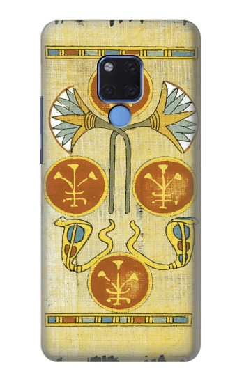 Printed Ancient Egypt Papyrus Tarot Huawei Mate 20 X Case