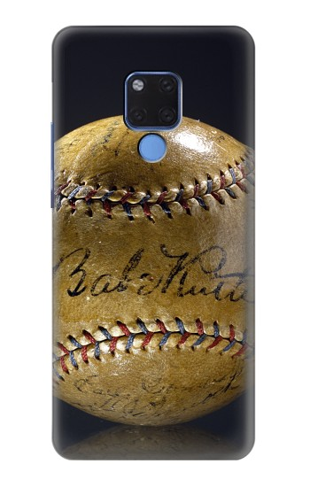 Printed Babe Ruth Baseball Autographed Huawei Mate 20 X Case