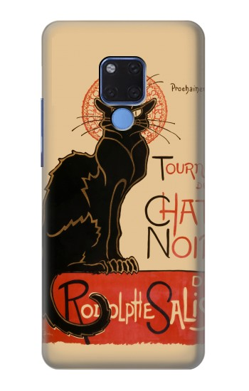 Printed Chat Noir The Black Cat Huawei Mate 20 X Case