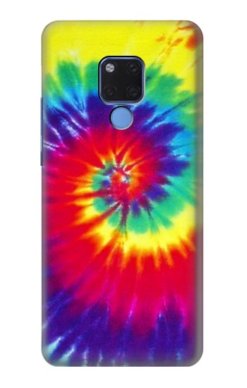 Printed Tie Dye Fabric Color Huawei Mate 20 X Case