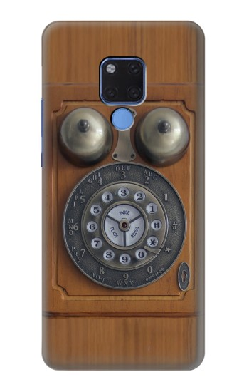 Printed Antique Wall Phone Huawei Mate 20 X Case