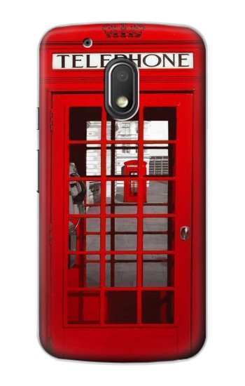 Printed Classic British Red Telephone Box Motorola Droid Turbo 2 / X Force Case