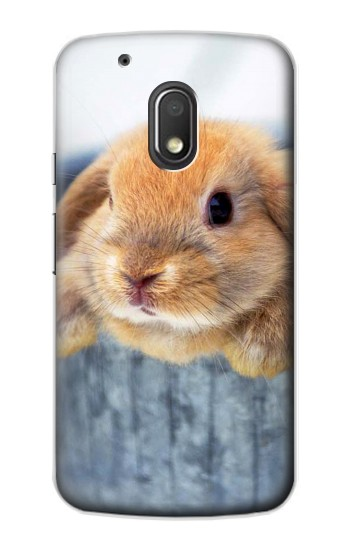 Printed Cute Rabbit Motorola Droid Turbo 2 / X Force Case