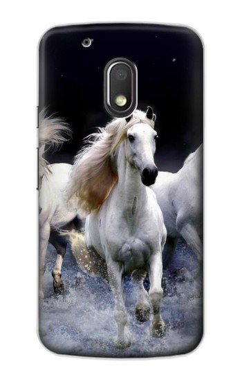 Printed White Horse Motorola Droid Turbo 2 / X Force Case