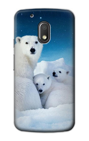 Printed Polar Bear Family Arctic Motorola Droid Turbo 2 / X Force Case