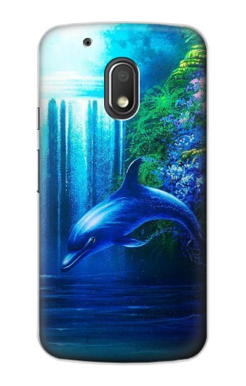 Printed Dolphin Motorola Droid Turbo 2 / X Force Case