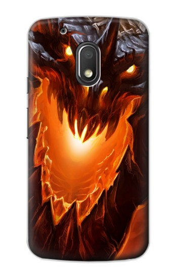 Printed Fire Dragon Motorola Droid Turbo 2 / X Force Case