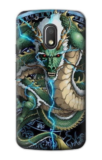Printed Green Dragon Motorola Droid Turbo 2 / X Force Case
