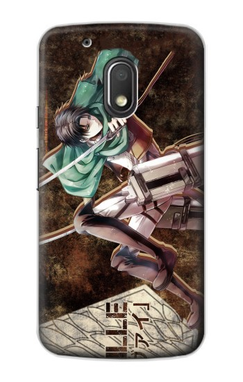Printed Attack on Titan Rivaille Motorola Droid Turbo 2 / X Force Case