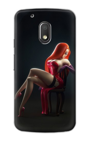 Printed Hot Sexy Bunny Girl Motorola Droid Turbo 2 / X Force Case
