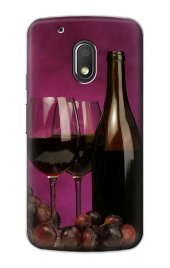 Printed Red Wine Motorola Droid Turbo 2 / X Force Case