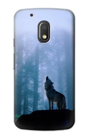Printed Wolf Howling in Forest Motorola Droid Turbo 2 / X Force Case