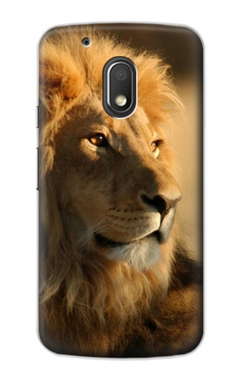Printed Lion King of Forest Motorola Droid Turbo 2 / X Force Case