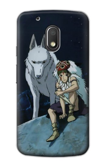 Printed Princess Mononoke San Motorola Droid Turbo 2 / X Force Case