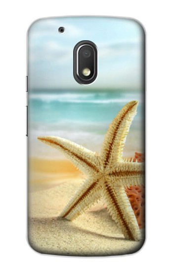 Printed Starfish on the Beach Motorola Droid Turbo 2 / X Force Case